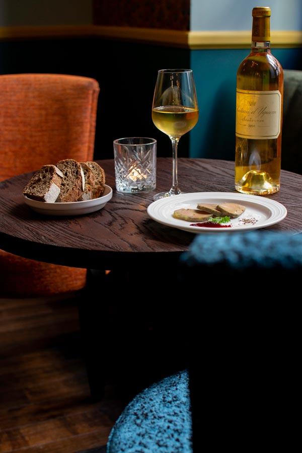 Le Bar du Bouillon, Foie Gras