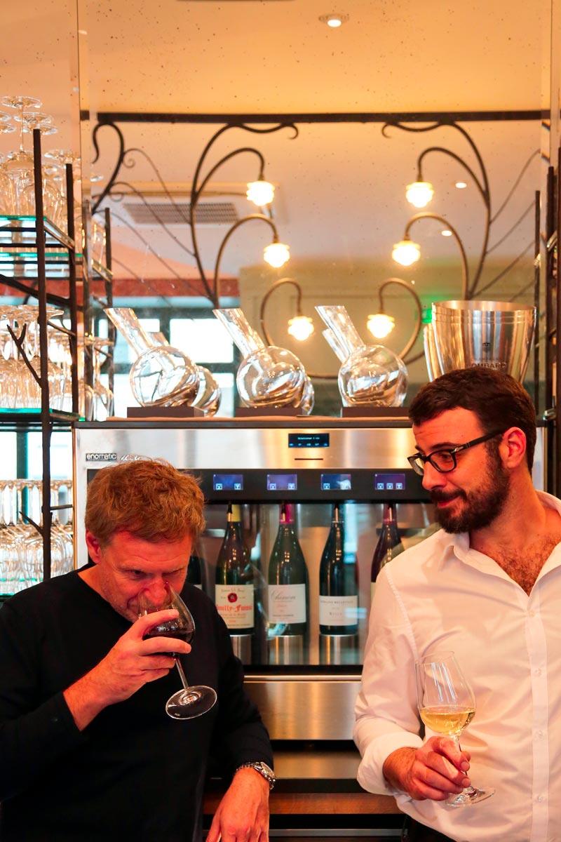 Le Bar du Bouillon, équipe